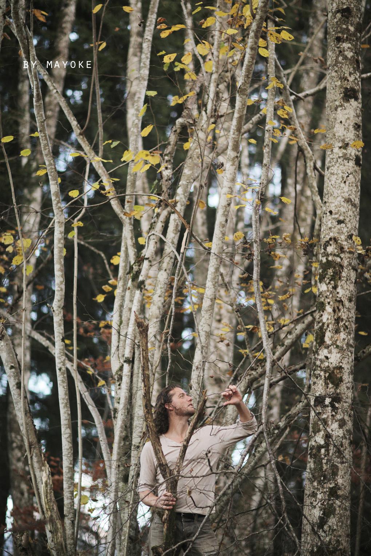 Alexandre Deschaumes | Homme en Forêt