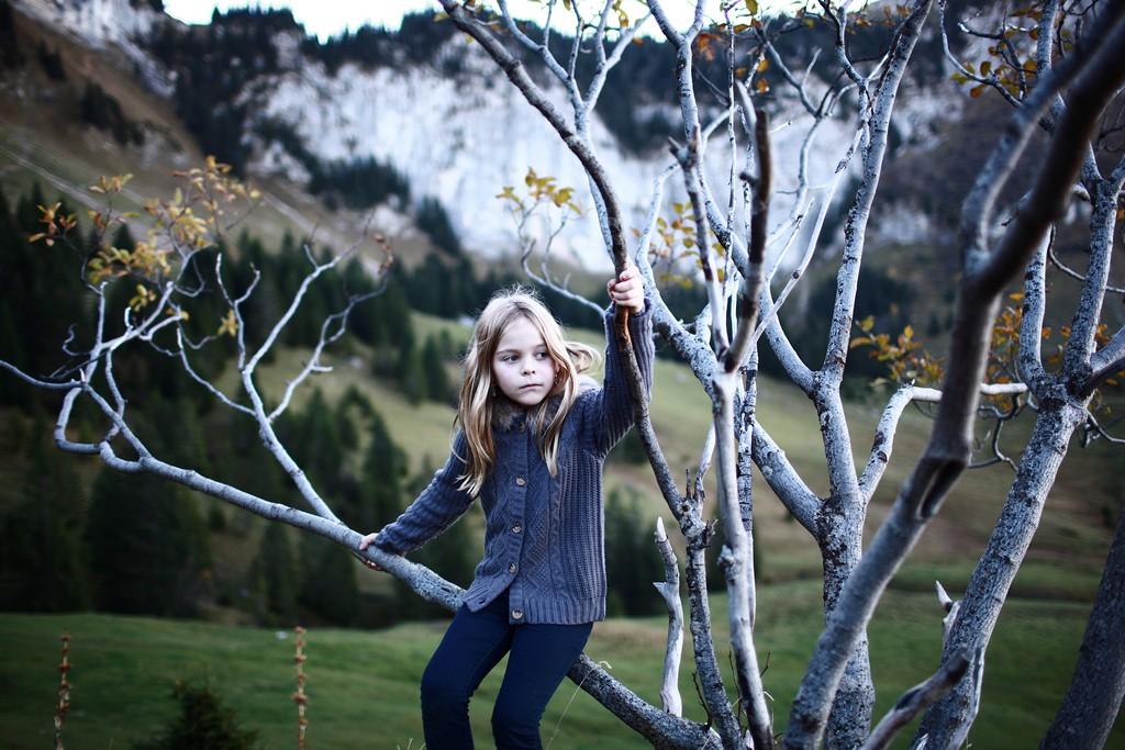 Justine | Portrait Enfant en Nature