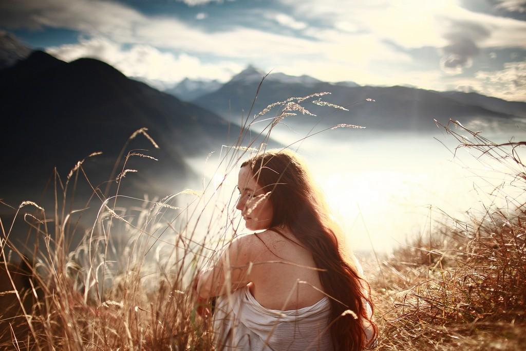 Adeline | Portrait Femme bretonne | Alpes