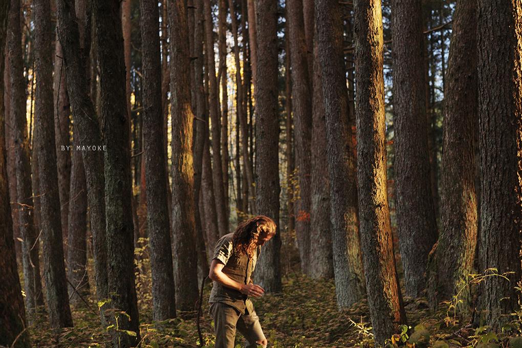 Alexandre Deschaumes   Portrait Homme Forêt