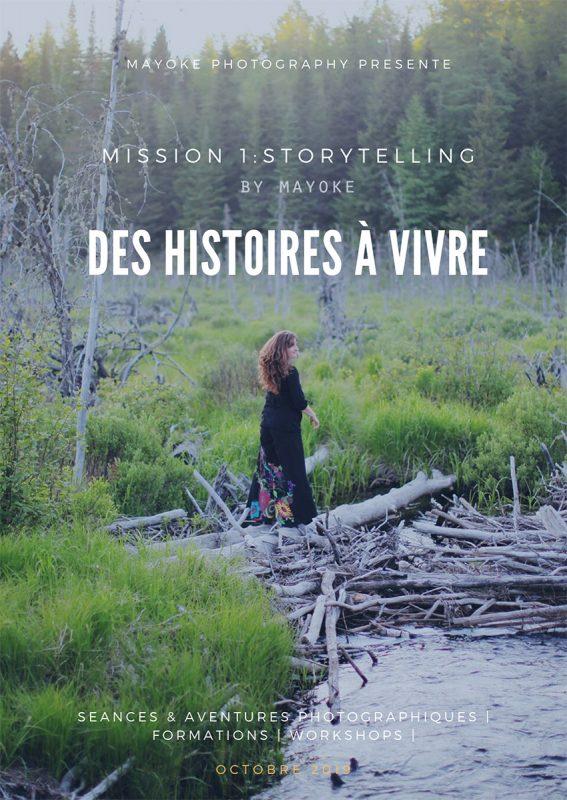 Camp Sauvage 1 - Storytelling